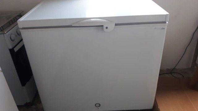 Freezer fricon 311 litros horizontal uma porta  - Foto 3