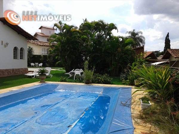 Casa à venda com 4 dormitórios em Bandeirantes (pampulha), Belo horizonte cod:506647