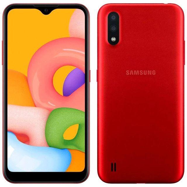Samsung A01 nota fiscal e garantia