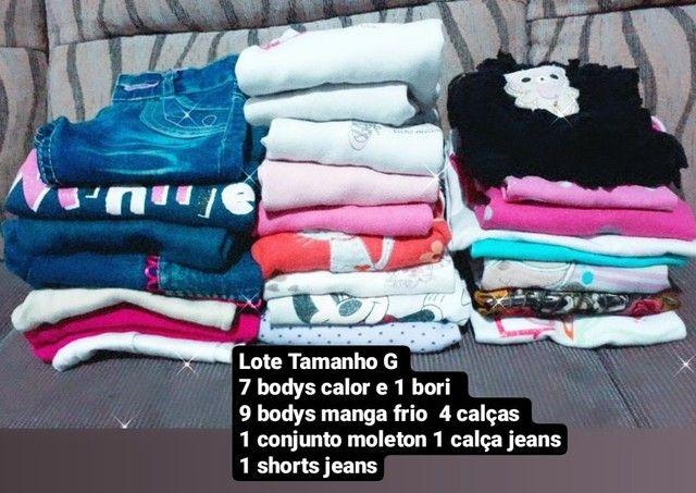 Lote roupa infantil feminina  - Foto 5