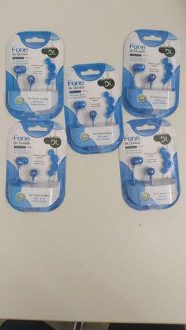 Fone de ouvido DL série color - RN-011 (kit com 5) - Na caixa - Foto 3