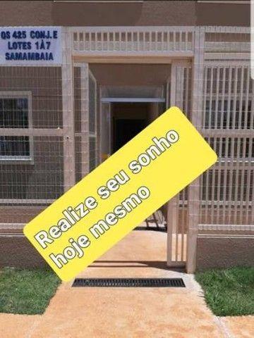 2 dormitorios conjugado Samambaia Norte pronto para morar