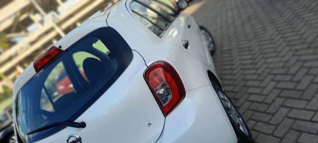 Nissan March S 1.0 2015 ent. + R$849,00 mês - Foto 2