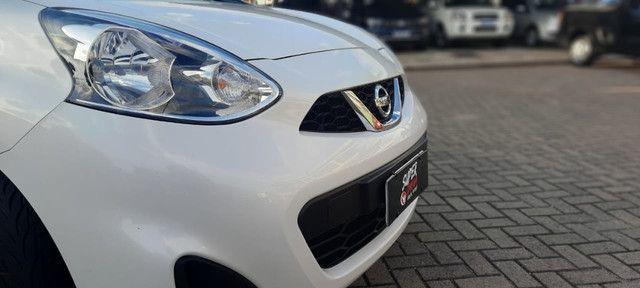 Nissan March S 1.0 2015 ent. + R$849,00 mês - Foto 13