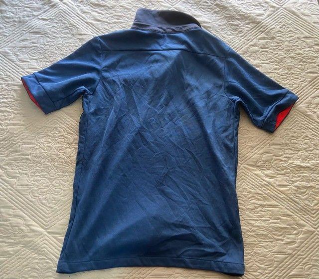 Camisa Oficial Nike (12 anos infantil) - Seleção França  - Foto 2