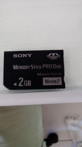 Memory Stick PRO-DUO - SONY - 2GIGA