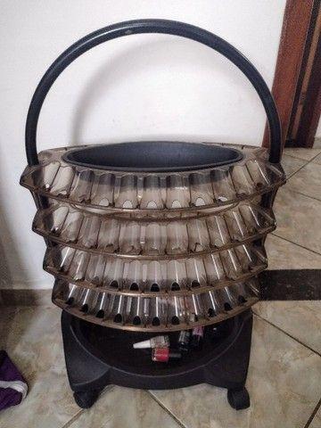 Carrinho de esmalte com 4 bandejas - Foto 3