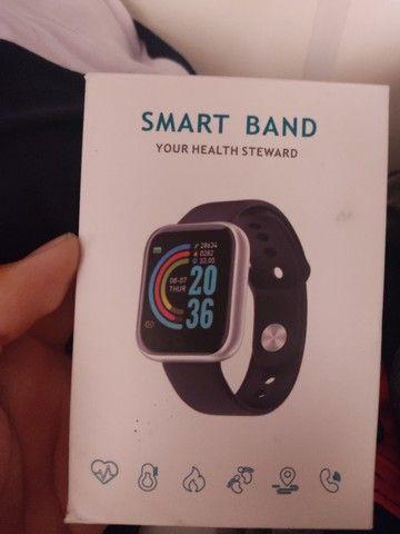 Relógio digital smart band