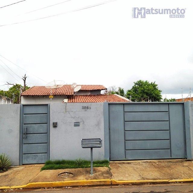 Três Lagoas - Casa Padrão - Jardim Paranapunga