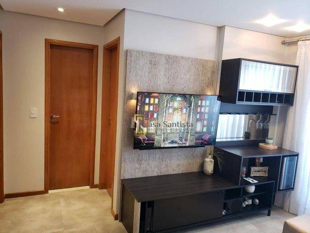 Apartamento com 2 dormitórios à venda, 70 m² por R$ 485.000,00 - Aparecida - Santos/SP - Foto 7
