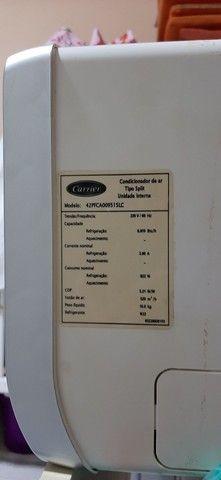 CONDICIONADOR DE AR SPLIT - CARRIER 9000Btus - Foto 3
