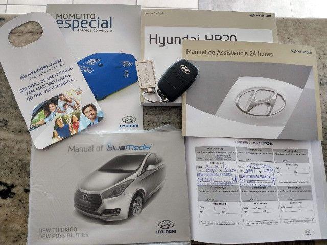 Hyundai HB20S Comfort Plus 1.6 Flex Automático 2019 - 27.481 Km / Garantia Fábrica 11/2023 - Foto 15