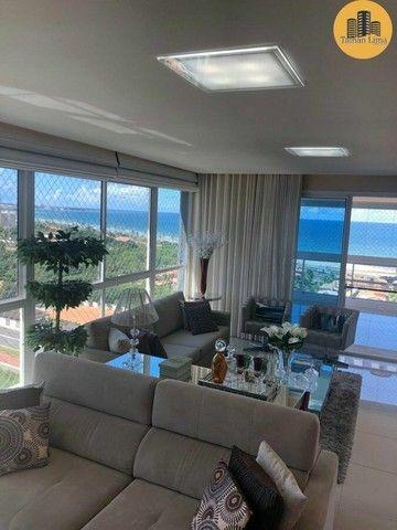 Apartamento com 4 suítes, vista mar em ´Patamares,3 vagas, Nascente. - Foto 5