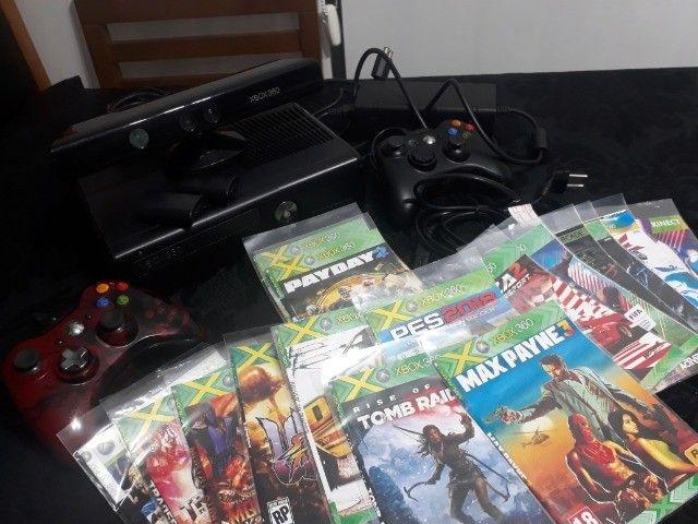 Microsoft Xbox 360 + Kinect Slim 4gb Standard - Foto 3