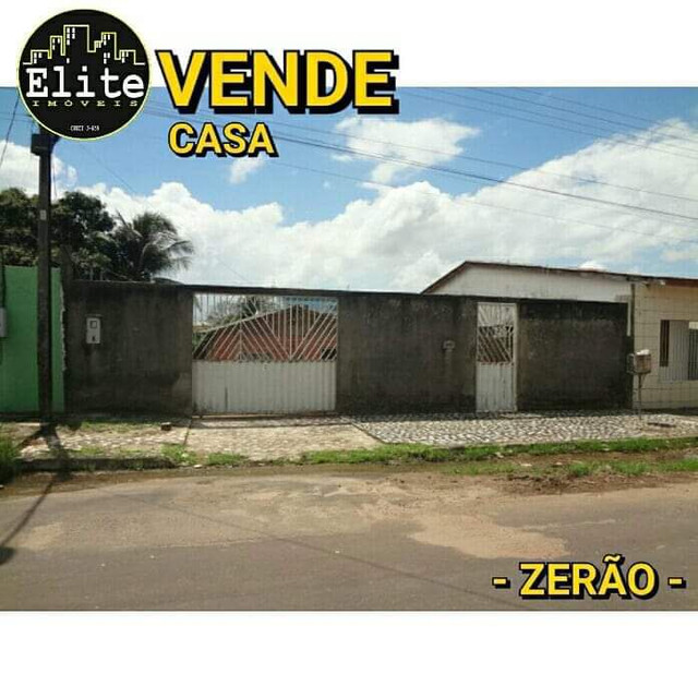 VENDE CASA - ZERÃO