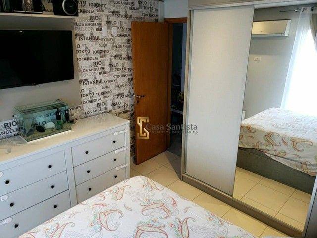 Apartamento com 2 dormitórios à venda, 70 m² por R$ 485.000,00 - Aparecida - Santos/SP - Foto 19