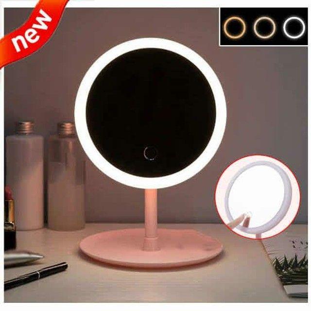 Espelho com Luz de Led P/ Maquiagem Ajustável - Foto 3