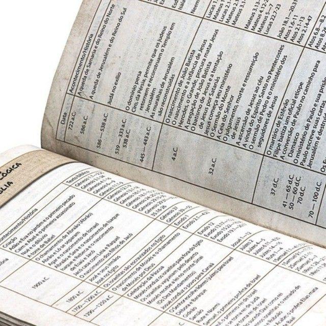 Bíblia Das Descobertas Para Adolescentes - Couro Marrom Sbb - Foto 5