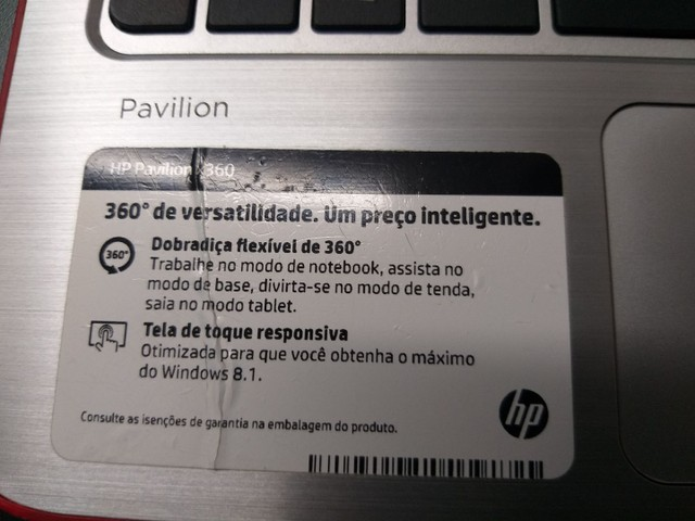 Notebook tablet HP  - Foto 3