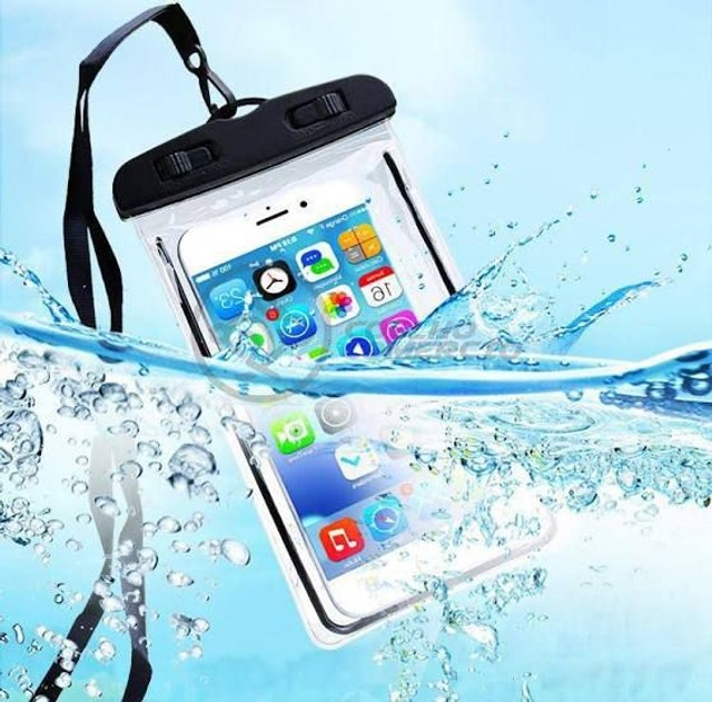 Capa aprova de água para smartphone