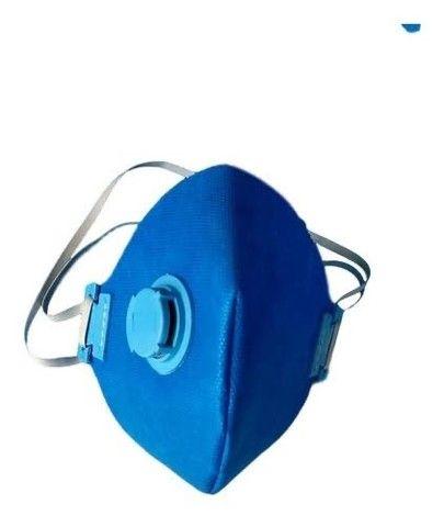 Kit 50 Máscaras Descartáveis Respirador Tipo N95 +válvula - Foto 3