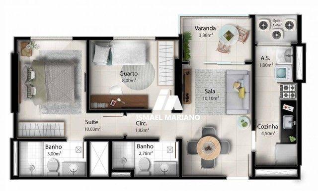 Apartamento à venda, 55 m² por R$ 347.000,00 - Praia de Itaparica - Vila Velha/ES - Foto 15
