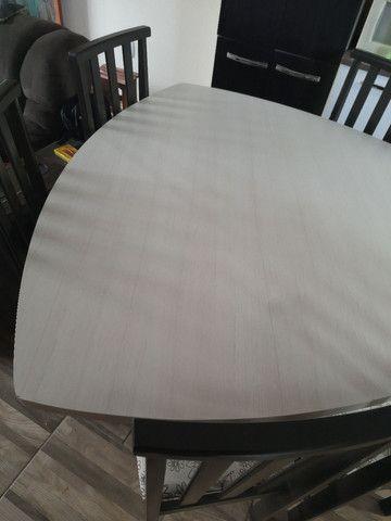 Mesa com 6 cadeira  - Foto 2