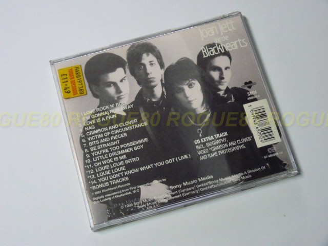 Cd I Love Rock N' Roll - Joan Jett and The Blackhearts - Edição Especial - Foto 2
