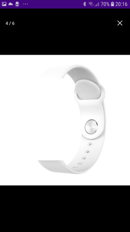 Smart Watch B57 HOLLVALDA ORIGINAL A PROVA D'ÁGUA  - Foto 4