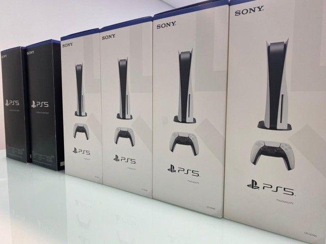 Sony Playstation 5 Ps5 825gb Com Leitor Nacional Lacrado Garantia - Foto 2