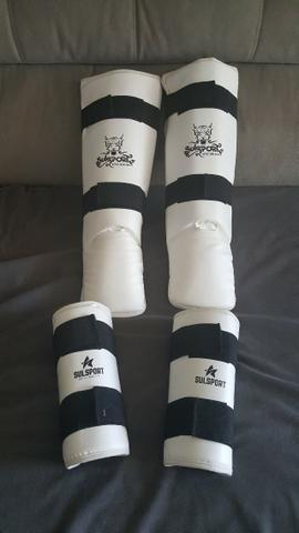 Kit de Proteção de taekwondo