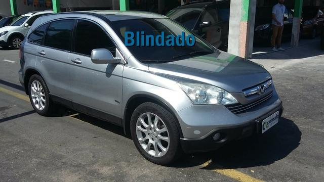 Wonderful Honda Cr V EX 2007 Blindada Aut