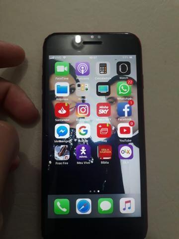 Vendo iPhone 7 32 gb preto fosco