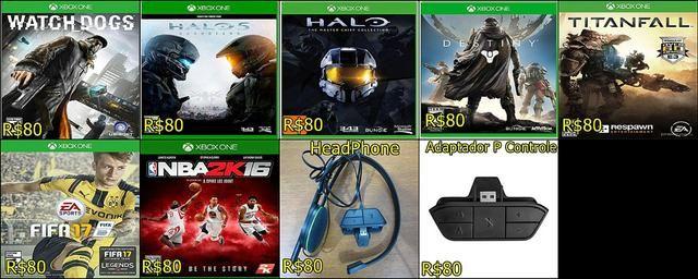 Bons Jogos Original de Xbox One Entrega Imediata Todo Rio