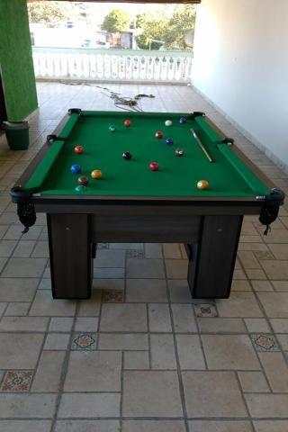 Mesa de Sinuca Cor Dakar Tecido Verde Mod. BBGP4784 - Foto 3