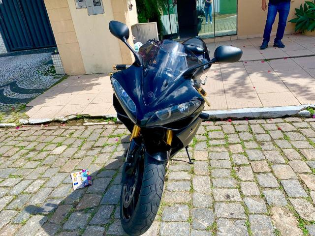 Yamaha R1 2008 preta Série Ouro Perfeita/ Yamaha R1/Yamaha R1 - Foto 3