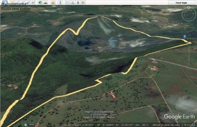 Fazenda em gravata 502 hectares, terreno amplo sen um vale com passagem de rio 8km da br23