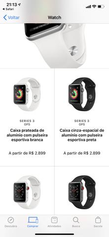 Relógio Apple Watch Serie 3 Lacrado GPS !!! - Foto 2