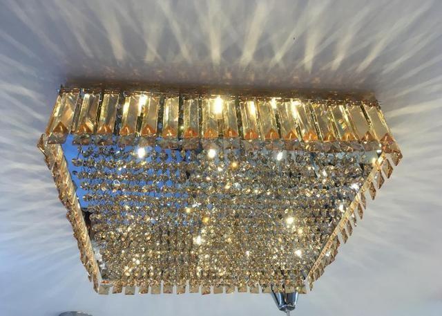 Lustre Plafon de Cristal