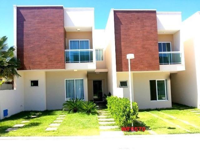 CA1699 Nathus Ville, casa duplex com 3 suítes no Eusébio, 2 vagas, área de lazer completa - Foto 10