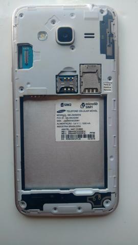 Samsung SM-J320M/DS dourado para trocar display ou retirar peças
