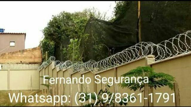 Concertina - Cerca de proteção para muros - Cerca de segurança - Foto 2
