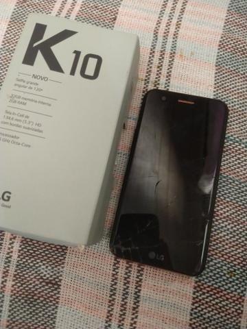 LG k 10 novo ler na descrição