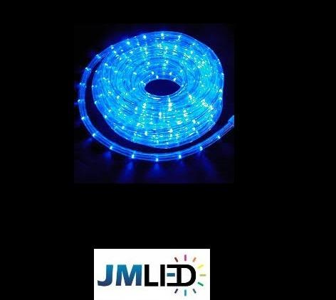 Rolo de 100m Mangueira Roliça de LED para Natal R$ 410,00 em 3X - Foto 3