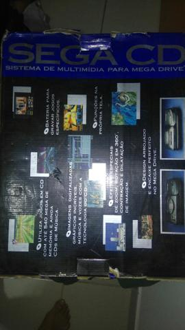 Sega cd + mega drive 3 + everdrive x5 + jogo sega classics - Foto 6