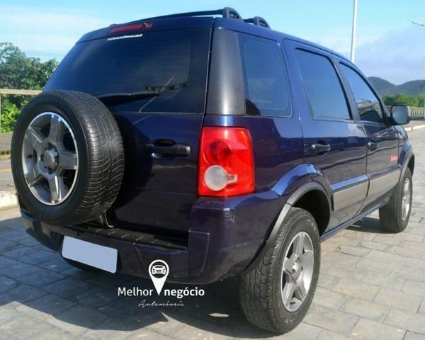 Ford Ecosport XLT FreeStyle 1.6 8v Flex Azul - Foto 5