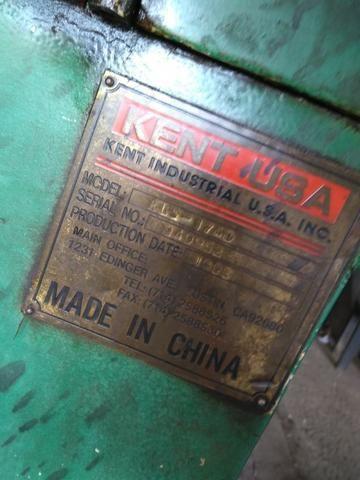 Torno Mecânico - Kent USA 1995