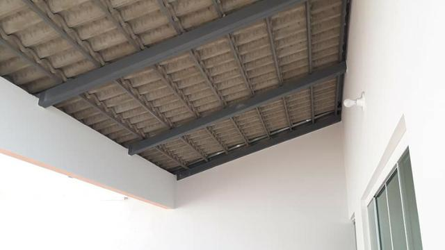 Linda Casa Nova Financia 2/4 Sendo 1 Suíte Na Laje Casa Individual Frente Pra Sombra - Foto 5