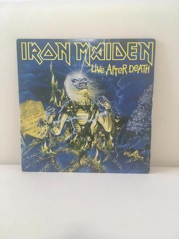Vinil duplo do Iron Maiden