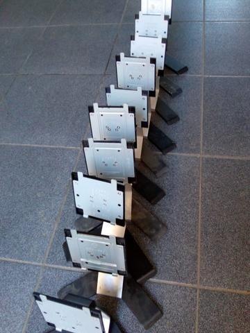 10 pes de monitores dell preto - Foto 2